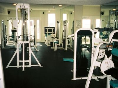 Get that work out in at Destin West's STATE OF THE ART FITNESS CENTER!