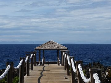 Waterfront palapa by the villa