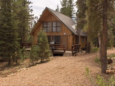The hideaway cabin in duck creek village utah for Bryce canyon cabin rentals