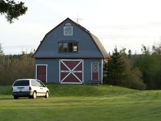 Cranberry Isles estate photo - Red House Barn and minivan