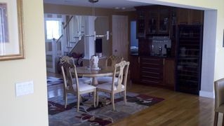 Old Saybrook house photo - Dining area with a Wet Bar