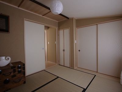 Tatami room(second bedroom) with antique pieces