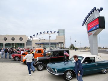 Antique Car Show - one of many activities held at nearby Wildwood Convention Ctr