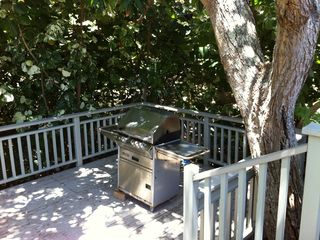 Kailua house photo - Propane BBQ grill on lower deck