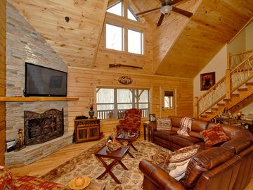 Maggie Valley house rental - Large Flat Screen TV