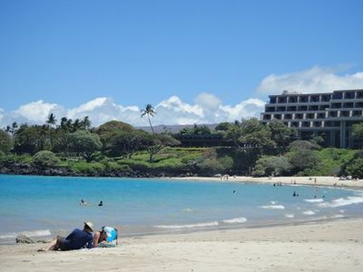 Beautiful Mauna Kea Beach is only a few minutes drive from our condo.