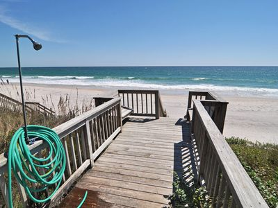 Surf City house rental - Beach Access