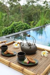 Daily afternoon tea service - Ubud villa vacation rental photo