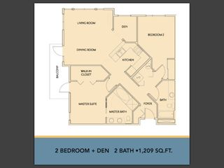 Portland condo photo - Floorplan