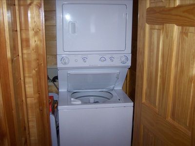WASHER AND DRYER FOR EXTENDED STAY