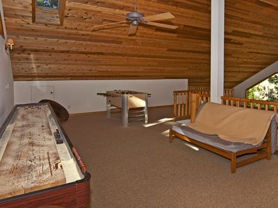 Zephyr Cove house rental - Shuffleboard & Foosball Tables!