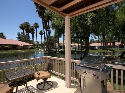 Palm Desert condo rental - Your very own Lagoon Balcony, South Facing.