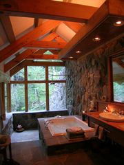 Boone cabin photo - Bath in the Woods