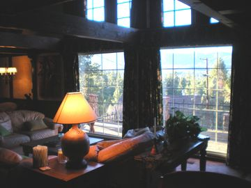 The BEST view out these windows and on the front deck -