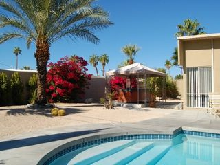 Palm Springs house photo - Your Own Private Desert Resort, Large Spa, Pool, Beautiful Private Enclosed Yard