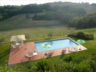 Montespertoli villa photo - pool