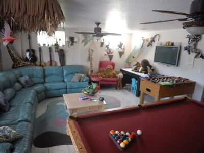 #2 Beach House Game Room another view