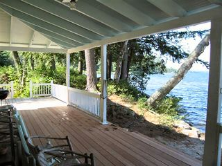 Wolfeboro cottage photo - Another view of the porch