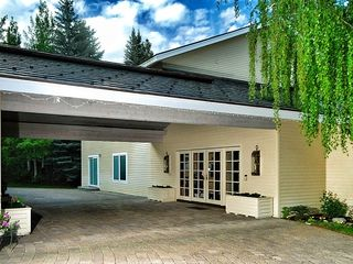 Sun Valley house photo - Porte Cochere provides covered entry