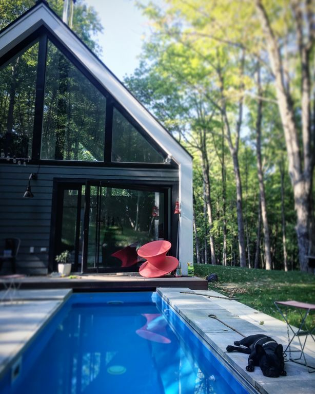 For Rent In Ny: Elegant + Modern Upstate NY Cabin In The...