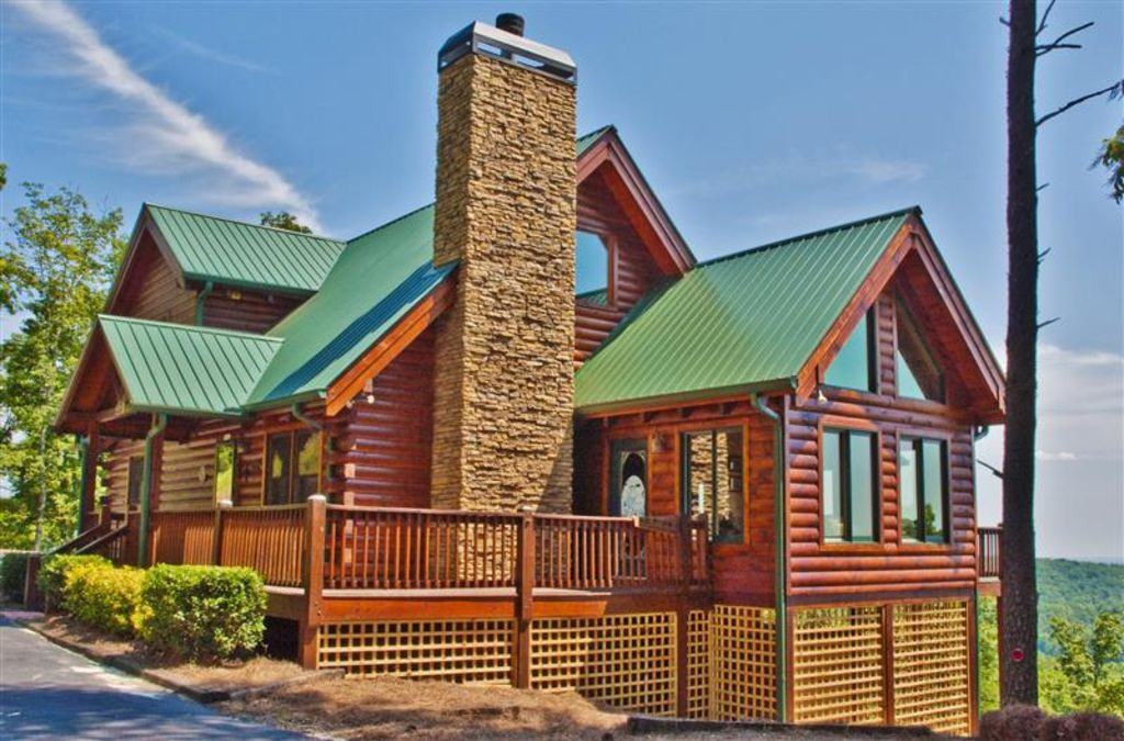 Superb 3br dahlonega cabin in north georgia 39 s vrbo for Large cabin rentals north georgia