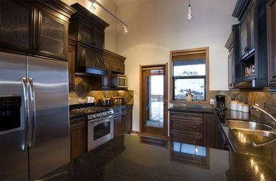 Gourmet Kitchen with with Gas Stove & Stainless Steel Appliances