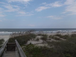 Amelia Island condo photo - View from private beach access