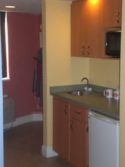 Kitchenette and Closet Area - Clearwater Beach condo vacation rental photo