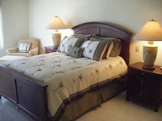 Master Bedroom - Indian Rocks Beach condo vacation rental photo
