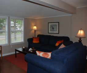 Dauphin Island cottage photo - New floors and furniture provide for a comfortable living space.