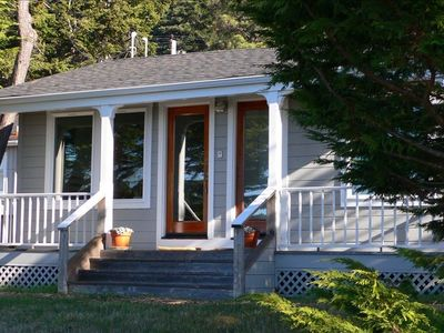 Mendocino house rental - Cottage Porch