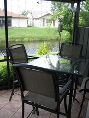 Deerfield Beach townhome photo - Back Patio- Great for morning coffee.