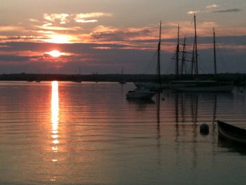 Sunrise in Vineyard Haven - 5 minute walk