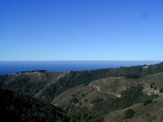 Big Sur house photo - A crystal clear day