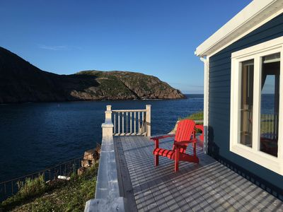 VERY BEST VIEW IN THE CITY, COTTAGE WITH WRAP-AROUND DECK, RIGHT ON THE NARROWS.