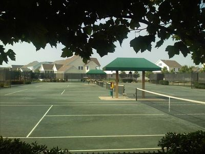 Clay Tennis Courts at the Resort - Don't Settle for Asphalt!