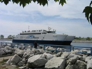 Muskegon house photo - Catch Lake Express to Milwaukee for a day trip.