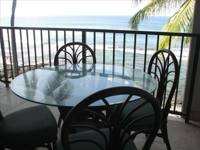KBK305 Lanai Dining - Watch the Surfers, Whales & Turtles!