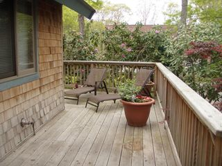Vineyard Haven house photo - Front Deck 05/15/2012