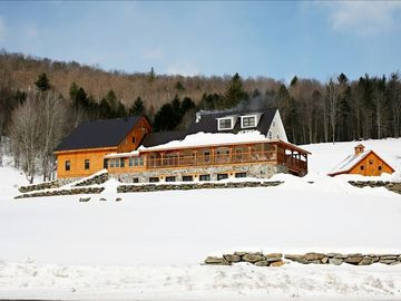 Winter is the perfect time to use our property as your own personal ski lodge!
