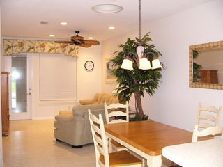 Vero Beach villa photo - TV Dining Room