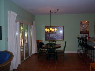 Pawleys Island townhome photo - Dining area with Breakfast Bar