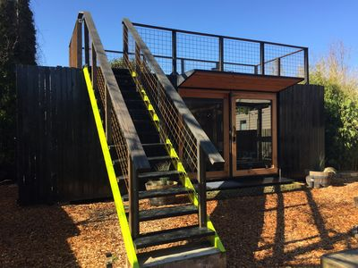 Unique Modern Container Dwelling