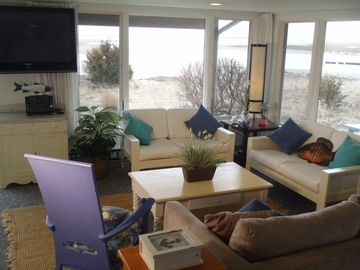 Nantucket Sound from the living room