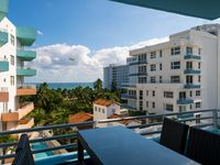 Ocean View & Breezes from this Modern 1 Bedroom Suite in SoBe