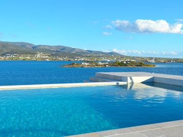 EAST-VIEW LOOKIN AT PAROS ISLAND