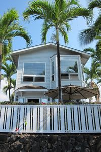 Kailua Kona house rental - Looking at the home from Alii Dr..
