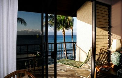 Partial view of lanai from livingroom