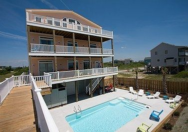 11 bedroom Luxury Beach House - Topsail Island Vacation Rentals
