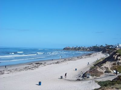 Beach looking north to La Jolla